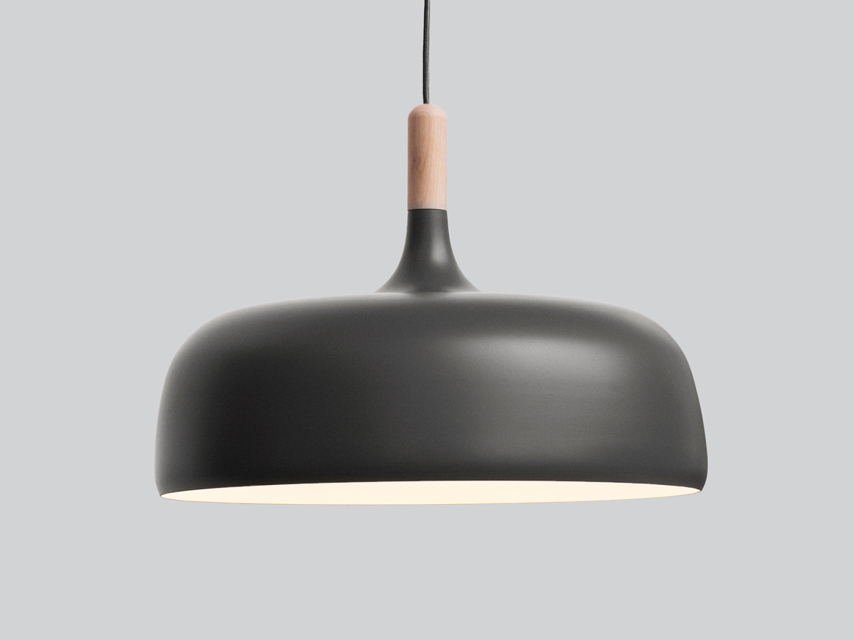 Buy the northern acorn pendant light grey at nest aloadofball