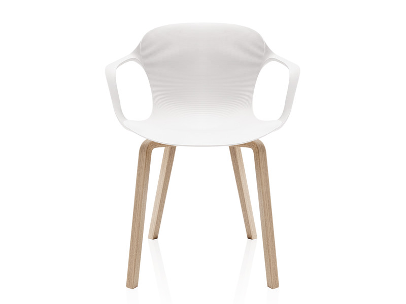 Buy the Fritz Hansen NAP Armchair Wooden Legs at Nestcouk