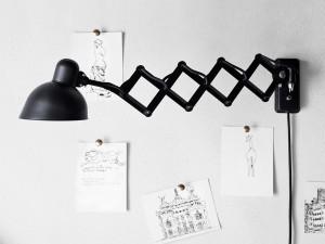 Lightyears Kaiser Idell Scissor Lamp