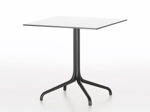View Vitra Belleville Cafe Table Square - Outdoor