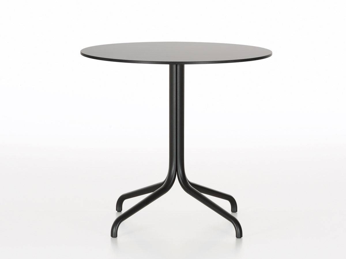 buy the vitra belleville cafe table round outdoor at nest co uk