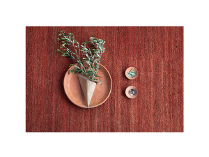 View nanimarquina Natural Earth Rug - Terracotta
