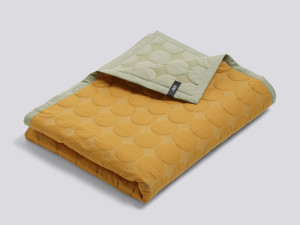 View Hay Mega Dot Bed Cover Yellow