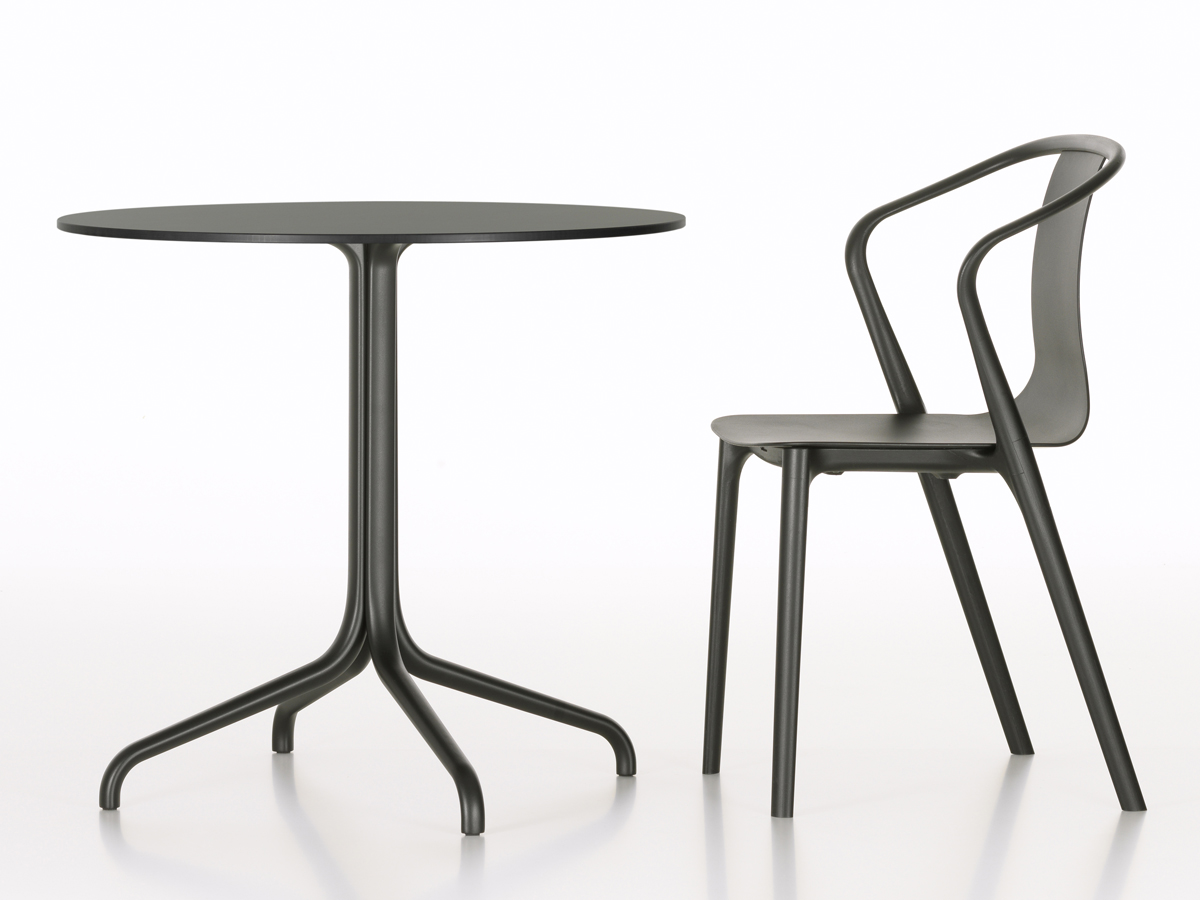 Buy the Vitra Belleville Cafe Table Round Outdoor at Nest