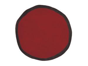 View nanimarquina Aros Redonda Rug - Red