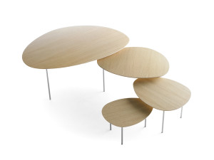 View STUA Eclipse Nesting Tables - Oak Natural
