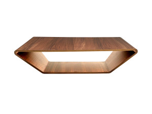 View Swedese Brasilia Coffee Table Walnut