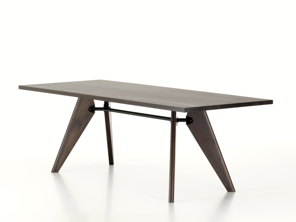 Buy The Vitra Table Solvay Smoked Oak At Nestcouk