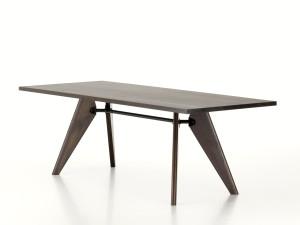 Vitra Table Solvay Smoked Oak