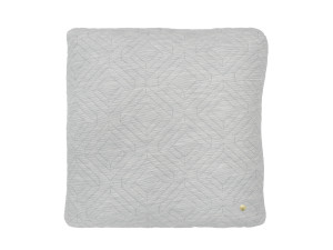 View Ferm Living Quilt Cushion Light Grey