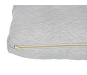 Ferm Living Quilt Cushion Light Grey