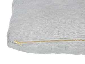 Ferm Living Quilt Cushion Light Grey