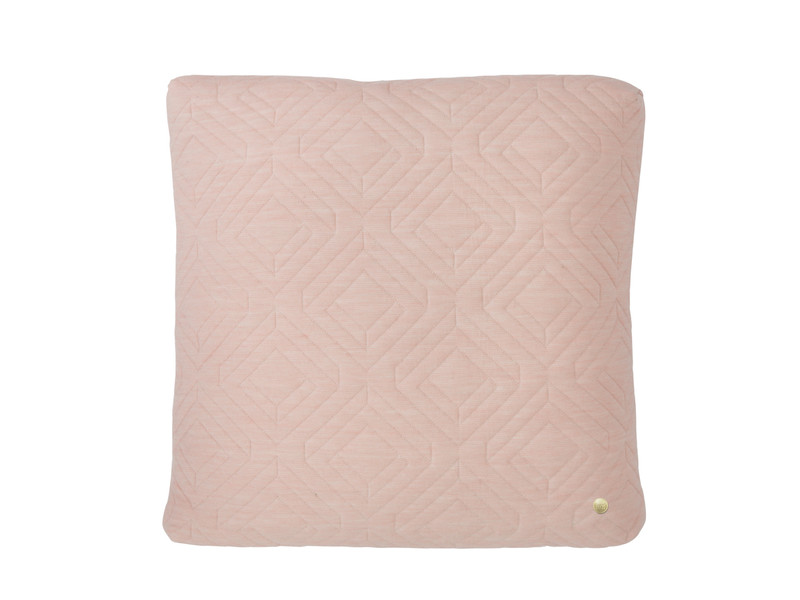 Ferm Living Quilt Cushion Rose