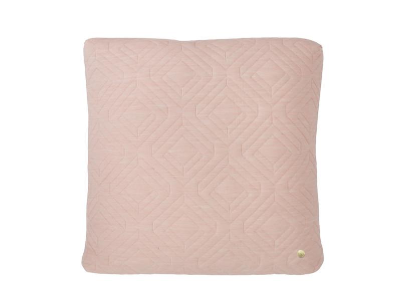 Ferm Living Quilt Cushion Rose