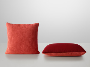 Muuto Mingle Cushion Red