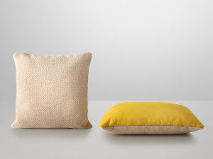 Muuto Mingle Cushion Yellow