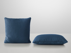 View Muuto Mingle Cushion Blue