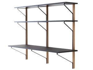 View Artek REB 010 Kaari Shelf with Desk
