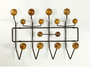 View Vitra Eames Hang It All - Walnut & Chocolate