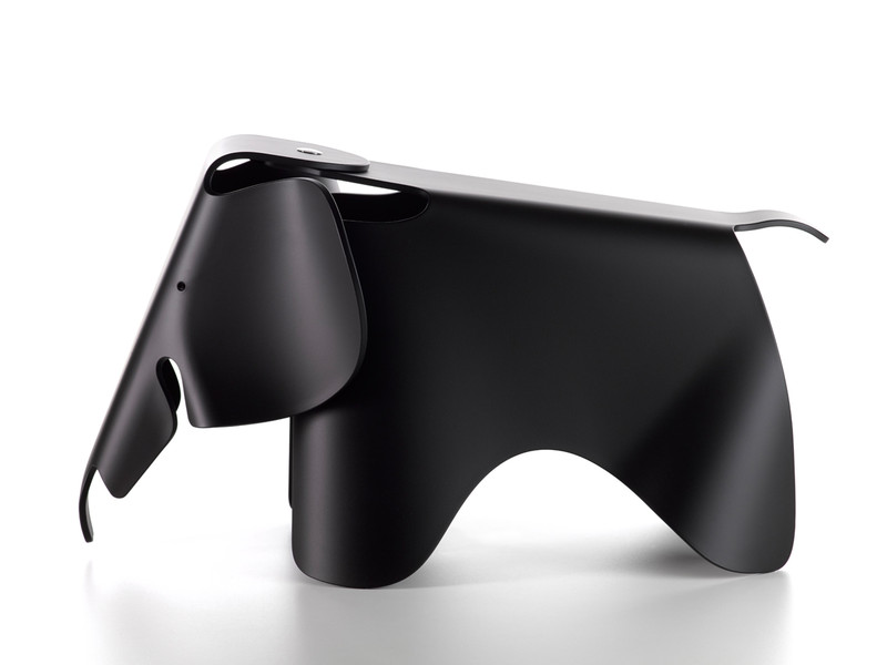 buy the vitra eames elephant black at. Black Bedroom Furniture Sets. Home Design Ideas