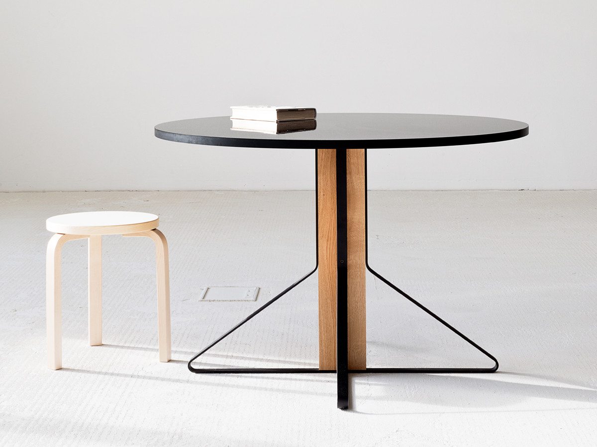 artek furniture  finnish tables chairs shelves  lighting  - view artek reb  kaari dining table