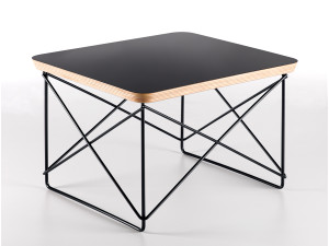 View Vitra Eames LTR Occasional Table Black Base