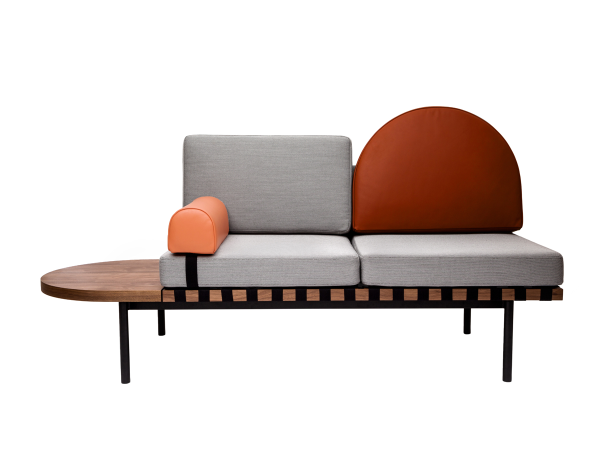 Buy the Petite Friture Grid Sofa at Nest