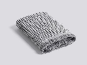 View Hay Waffle Towel Light Grey
