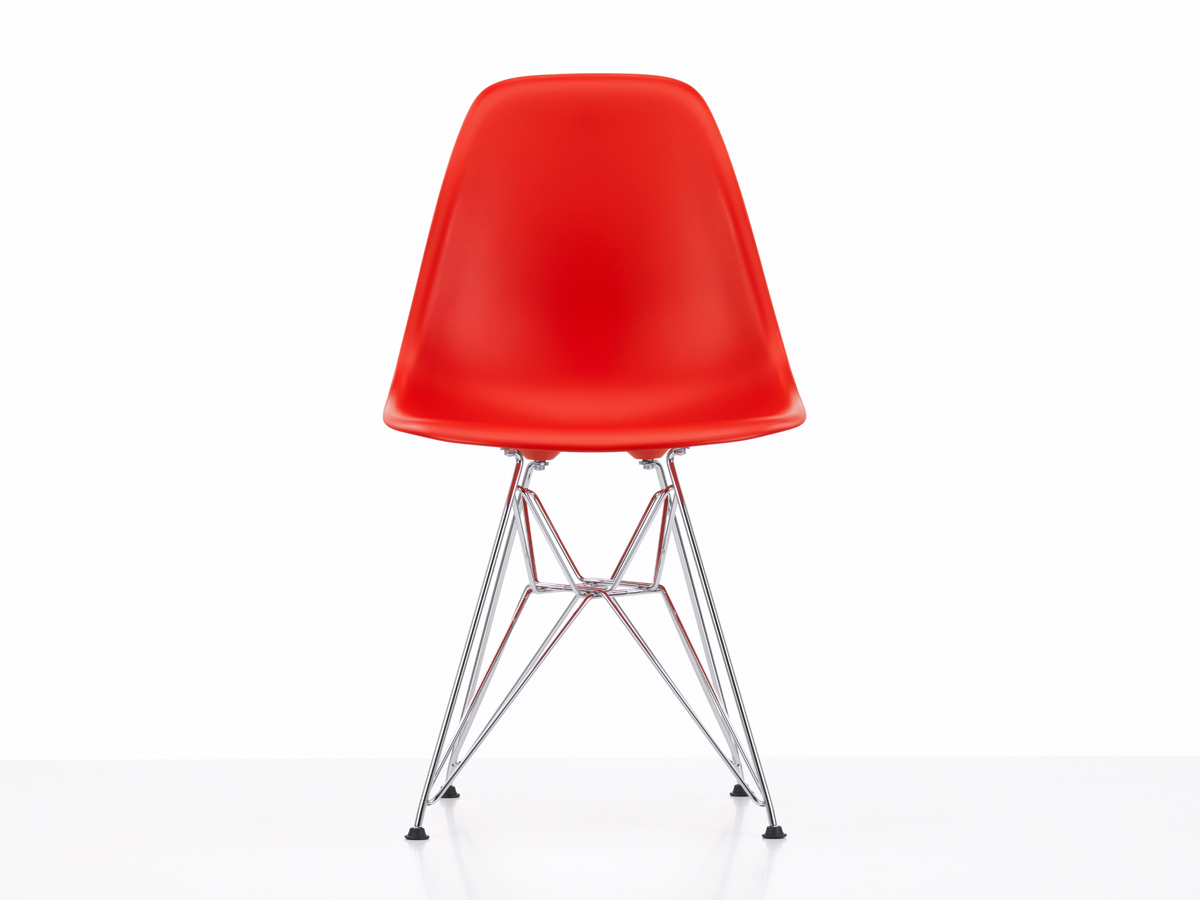 buy the vitra dsr eames plastic side chair at. Black Bedroom Furniture Sets. Home Design Ideas
