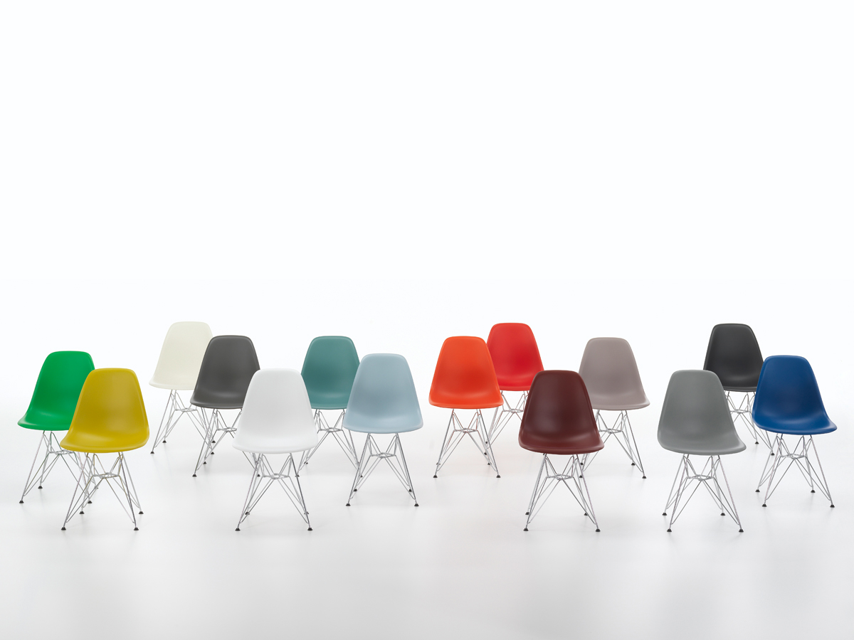 Buy The Vitra DSR Eames Plastic Side Chair At Nest.co.uk