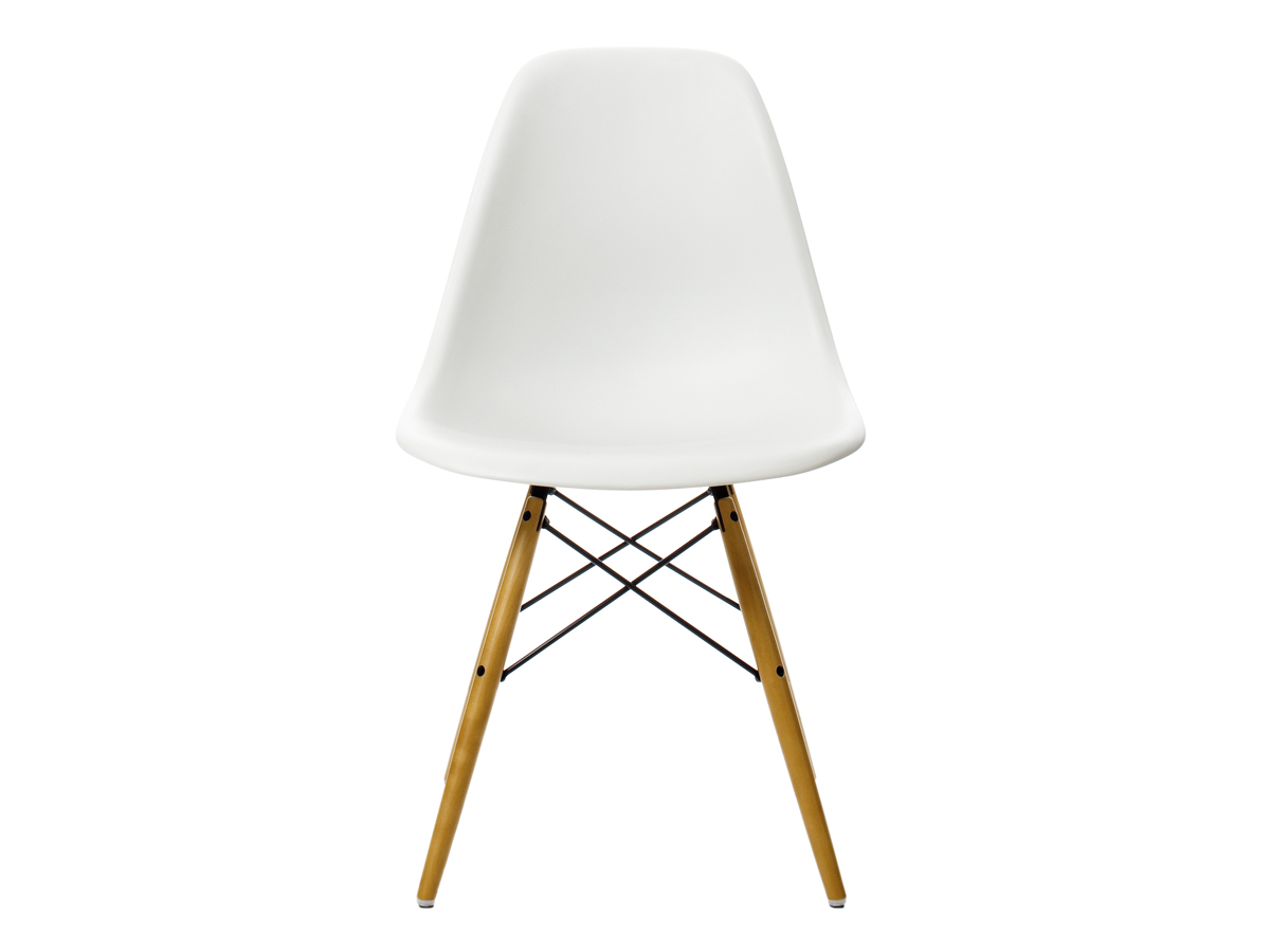 Eames Plastic Side Chair buy the vitra dsw eames plastic side chair golden maple base at nest