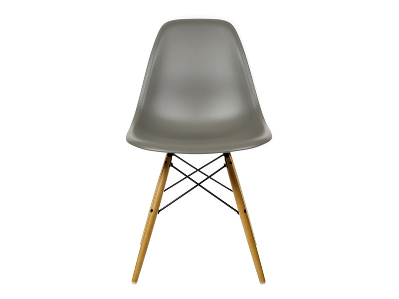 vitra dsw eames plastic side chair golden maple base. Black Bedroom Furniture Sets. Home Design Ideas