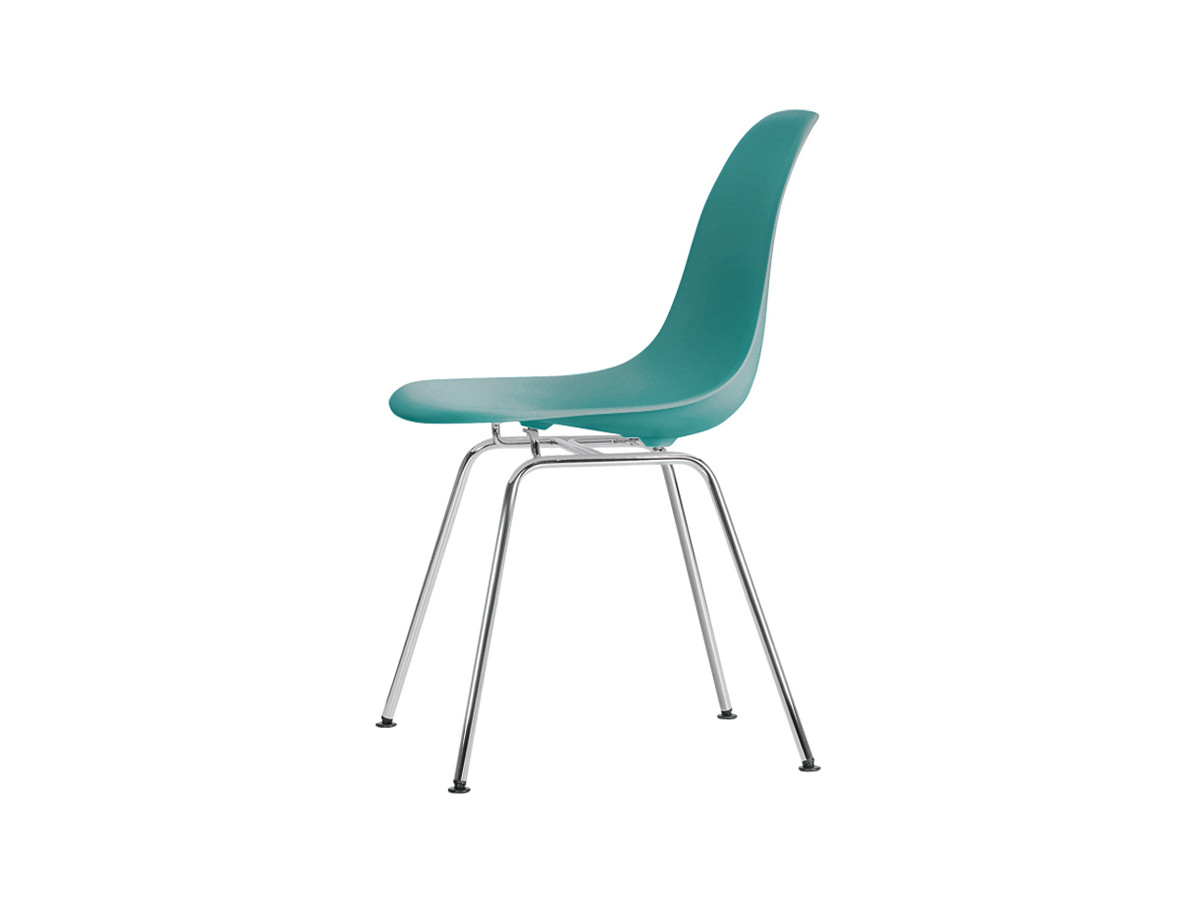Buy The Vitra Dsx Eames Plastic Side Chair Chrome Base At
