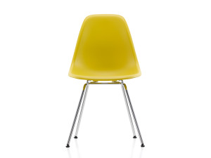 View Vitra DSX Eames Plastic Side Chair Chrome Base