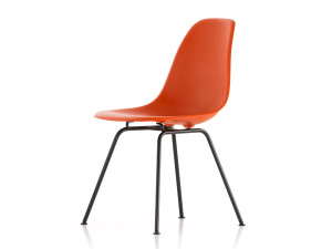 Vitra DSX Eames Plastic Side Chair Black Base