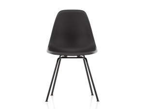 View Vitra DSX Eames Plastic Side Chair Black Base