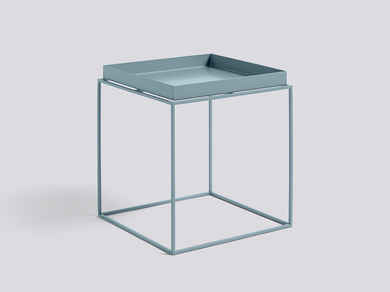 buy the hay tray table blue at. Black Bedroom Furniture Sets. Home Design Ideas