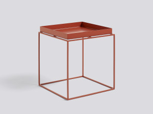 Hay Tray Table Red