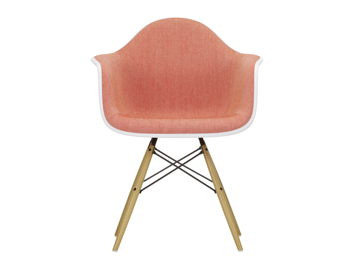 Extrêmement Buy the Vitra Upholstered DAW Eames Plastic Armchair at Nest.co.uk XC15