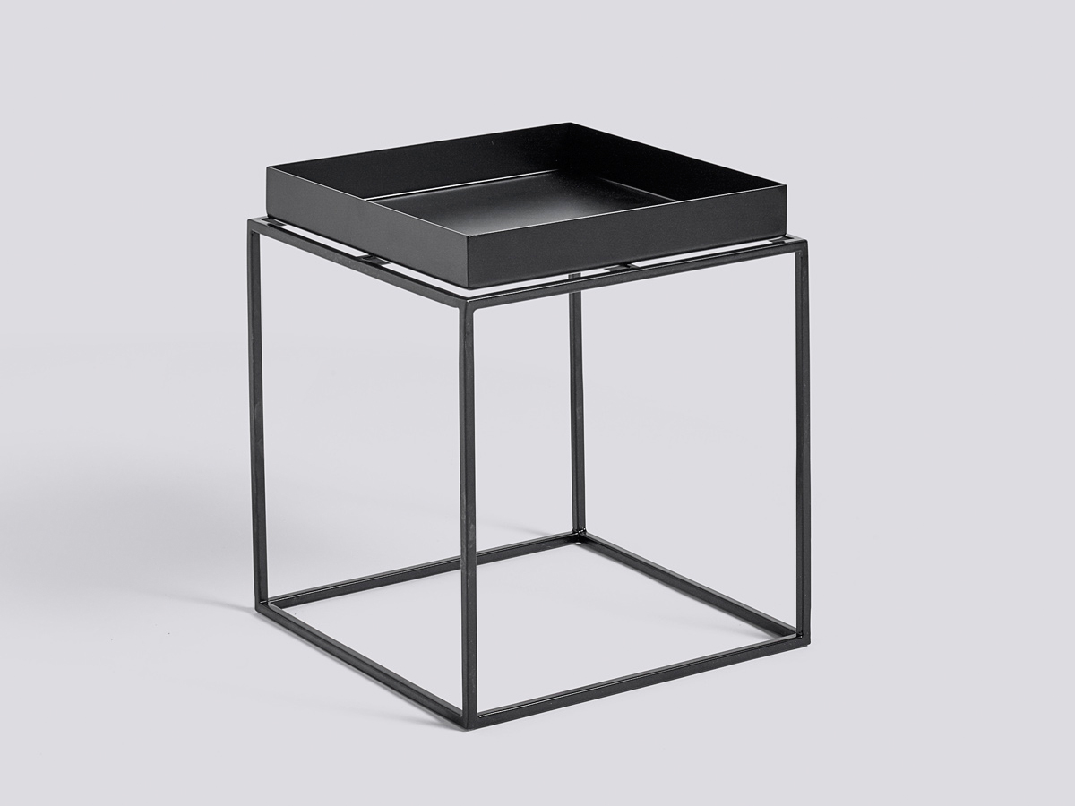 buy the hay tray table black at. Black Bedroom Furniture Sets. Home Design Ideas