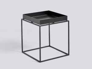 View Hay Tray Table Black
