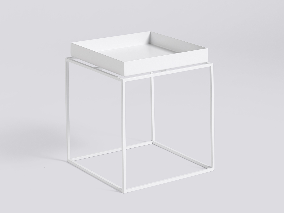 buy the hay tray table white at. Black Bedroom Furniture Sets. Home Design Ideas
