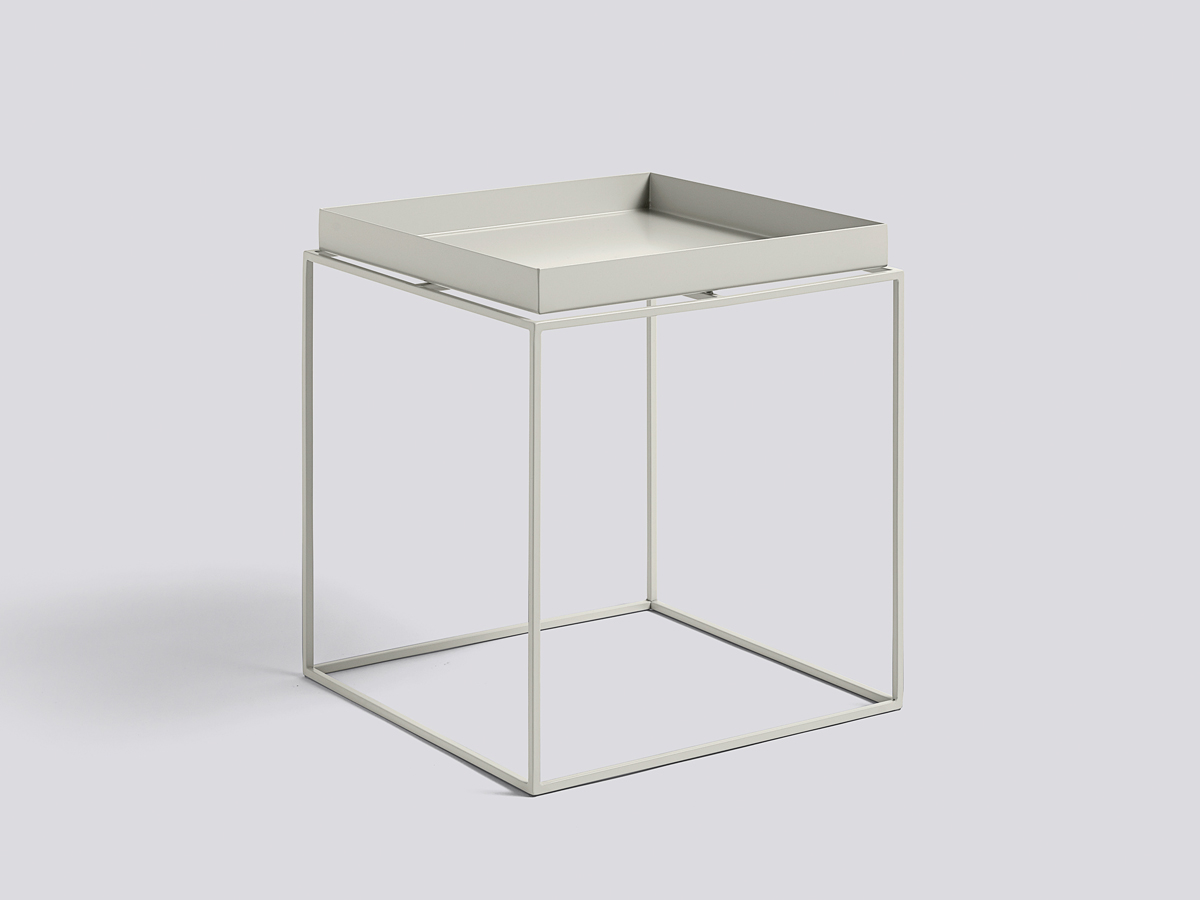 buy the hay tray table warm grey at. Black Bedroom Furniture Sets. Home Design Ideas