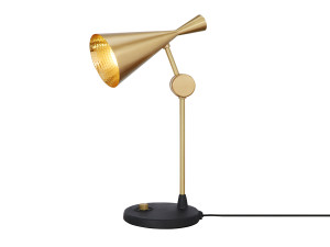 View Tom Dixon Beat Table Lamp Brass