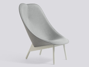 Hay Uchiwa Lounge Chair Grey Base