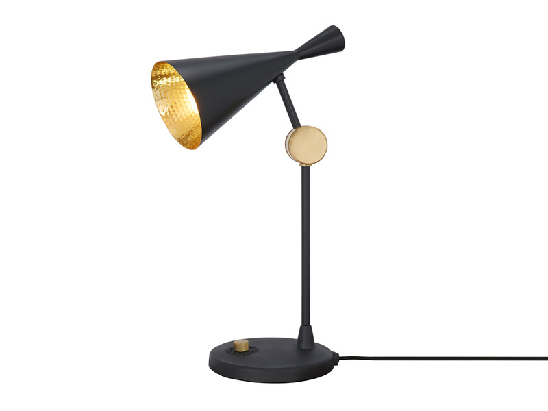 Tom dixon beat table lamp black