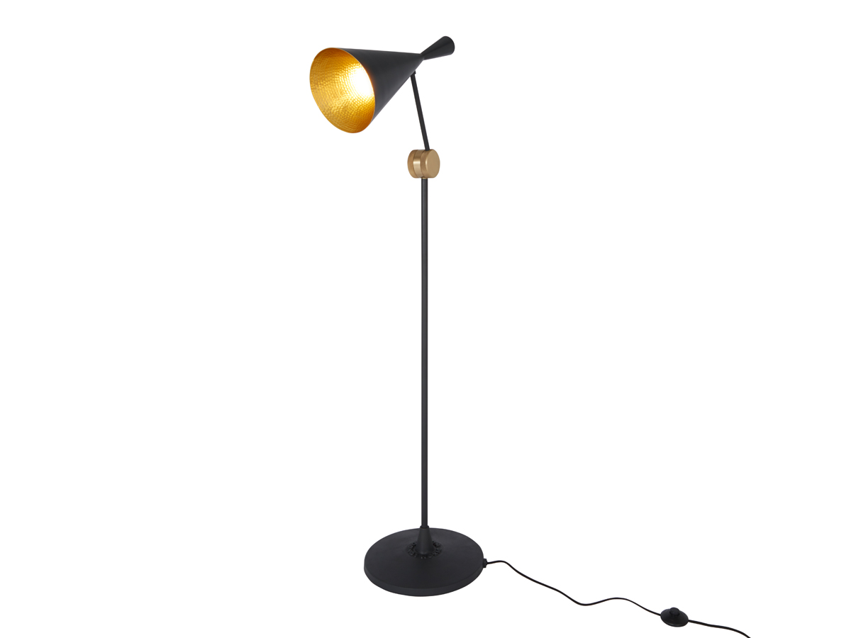 Buy the tom dixon beat floor lamp black at nest mozeypictures Image collections