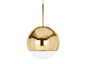 Tom Dixon Mirror Ball Pendant Light Gold