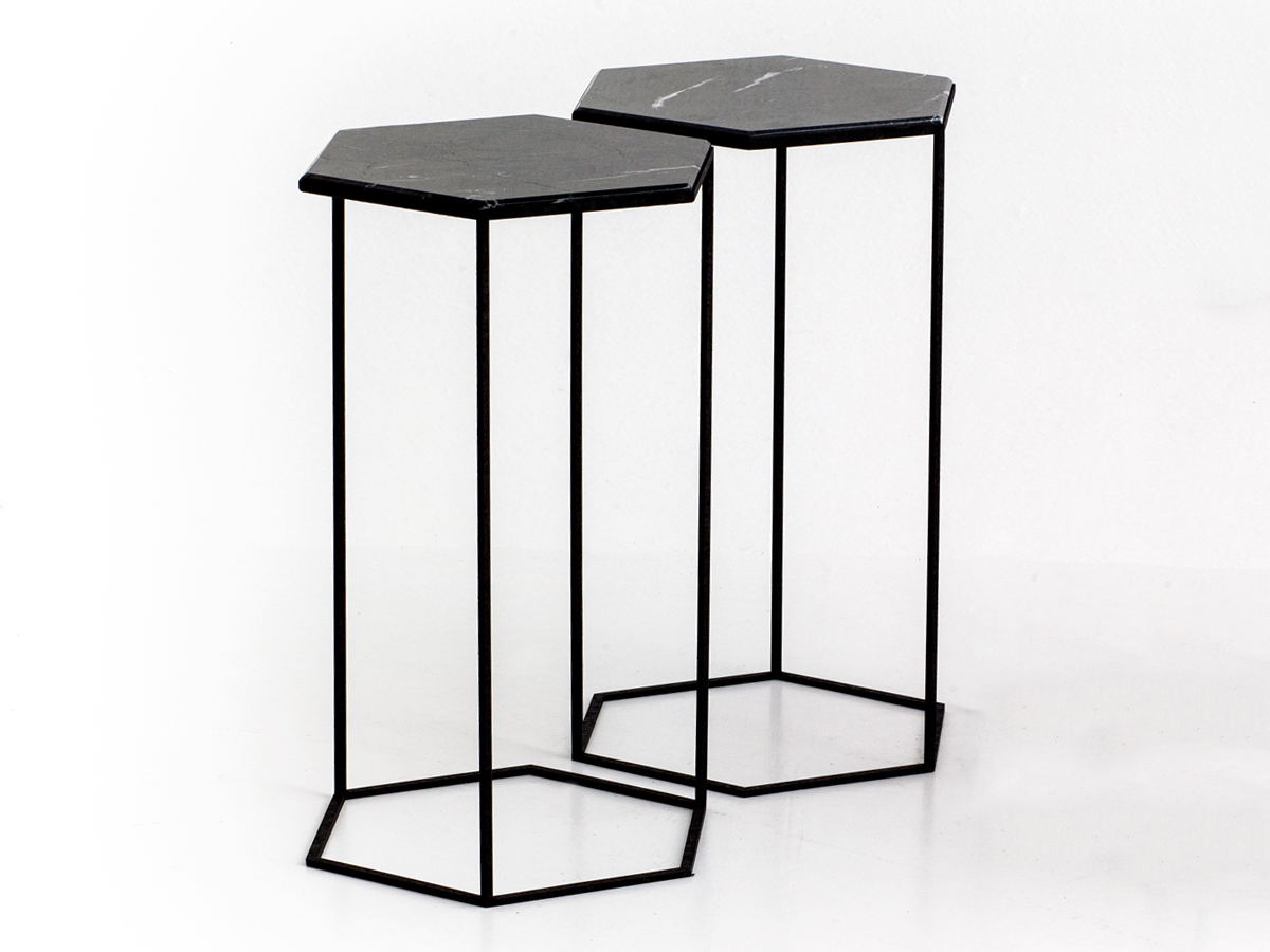 Buy The Diesel With Moroso Hexxed Side Table Black At Nest
