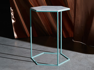 Diesel with Moroso Hexxed Side Table Verdigris